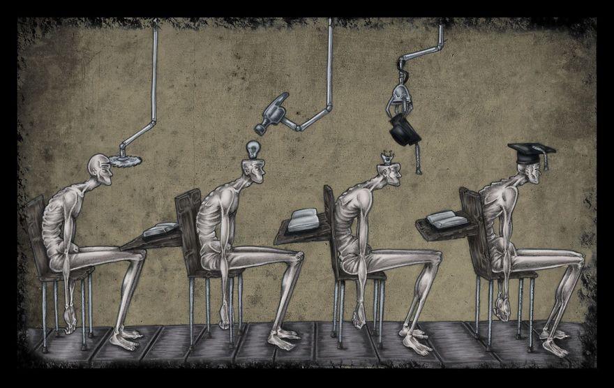 Photo of 15 Desenhos que nos fazem questionar sobre o que há de errado com a sociedade