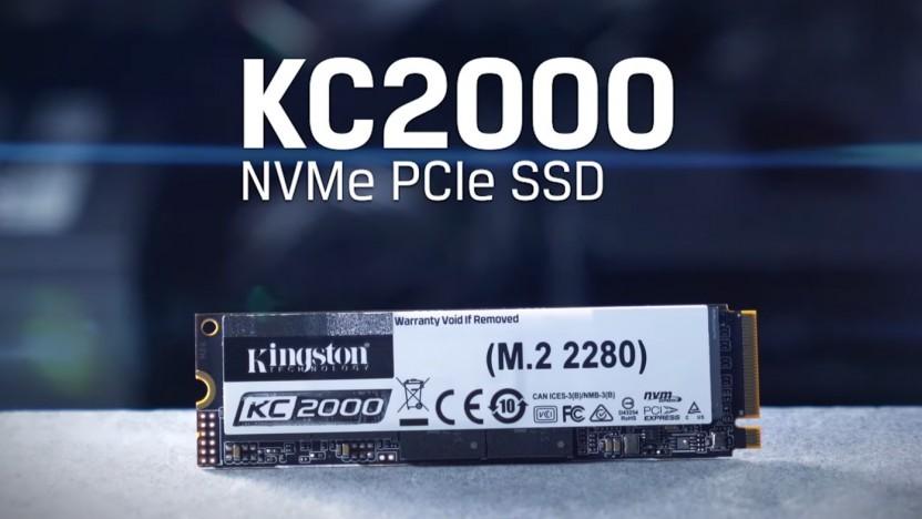 Photo of Nova geração de SSD: Kingston lança KC2000, da  NVMe PCIe