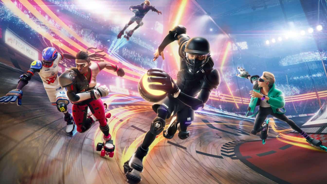 Roller Champions é um jogo de esportes gratuito