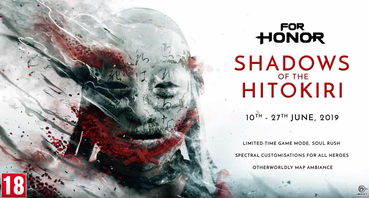 Photo of For Honor: Shadows of the Hitokiri, evento por tempo limitado!