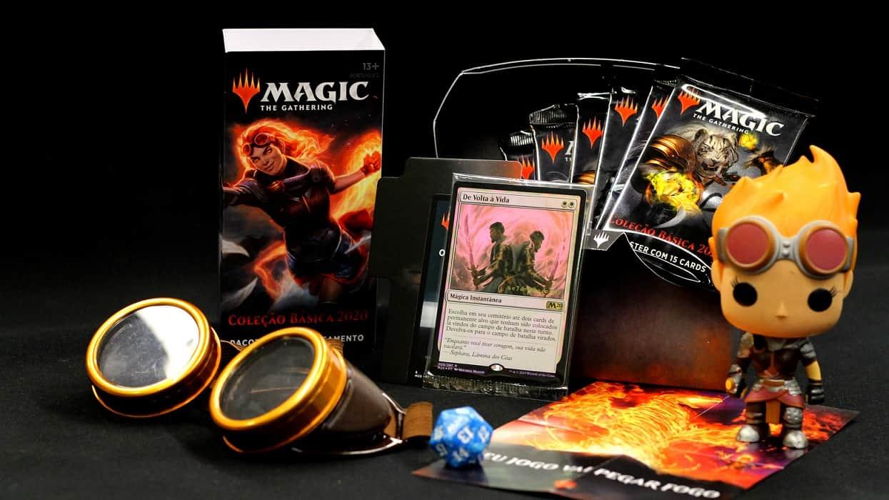 Photo of Magic: The Gathering realiza pré-lançamento da Coleção Básica 2020 neste final de semana