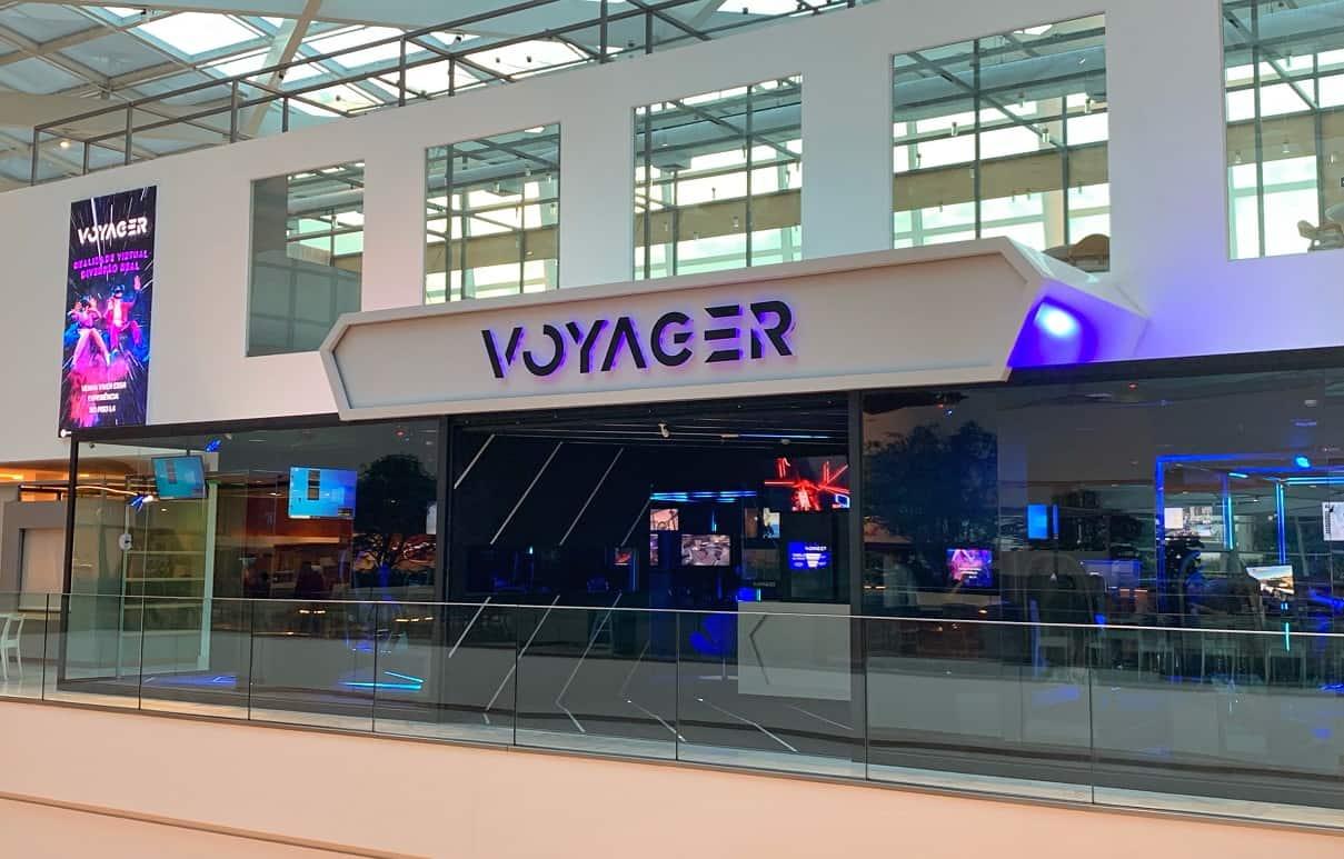 Voyager realidade virtual entretenimento estúdio ARVORE, acaba de inaugurar uma unidade no Pátio Batel, a primeira fora de São Paulo.